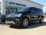 2018 Ford Expedition MAX Limited 2WD NAVIGATION, BLIND SPOT MONITOR, HEATED AND COOLED FRONT SEATS