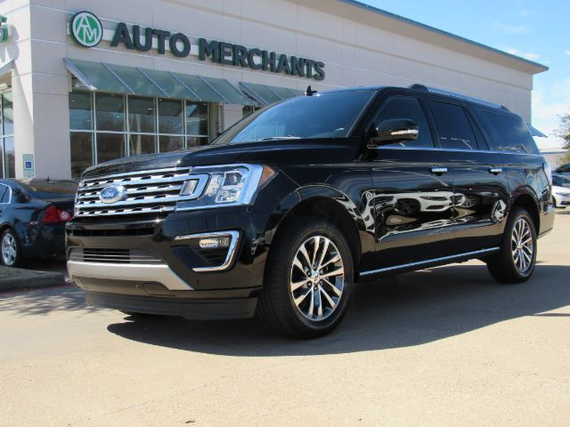 2018 Ford Expedition MAX Limited 2WD NAVIGATION, SUNROOF, BLIND SPOT MONITOR, HEATED AND COOLED FRONT SEATS Plano TX