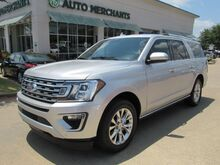 2018_Ford_Expedition_MAX Limited 4WD LEATHER, NAVIGATION, BLIND SPOT, HTD/CLD SEATS, UNDER FACTORY WARRANTY_ Plano TX