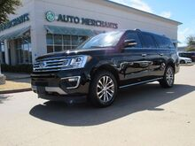 2018_Ford_Expedition_MAX Limited 4WD NAVIGATION, BLIND SPOT MONITOR, HEATED AND COOLED FRONT SEATS_ Plano TX