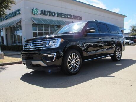 2018 Ford Expedition MAX Limited 4WD NAVIGATION, BLIND SPOT MONITOR, HEATED AND COOLED FRONT SEATS Plano TX