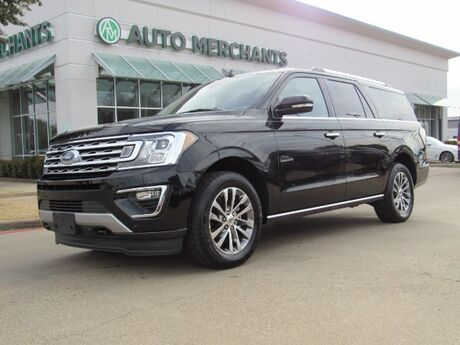 2018 Ford Expedition MAX Limited 4WD PANORAMIC SUNROOF, HEATED/COOLED FRONT SEATS, NAVIGATION,BACKUP CAMERA,BLIND SPOT Plano TX