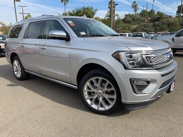 2018 Ford Expedition Max Platinum San Diego County CA