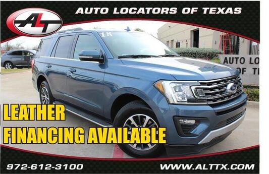 2018 Ford Expedition XLT with LEATHER Plano TX