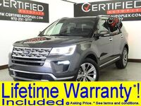 Ford Explorer LIMITED 4WD NAVIGATION LEATHER HEATED/COOLED SEATS REAR CAMERA REAR PARKING 2018
