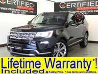 Ford Explorer LIMITED DRIVER ASSIST PKG NAVIGATION PANORAMA LEATHER HEATED/COOLED SEATS 2018