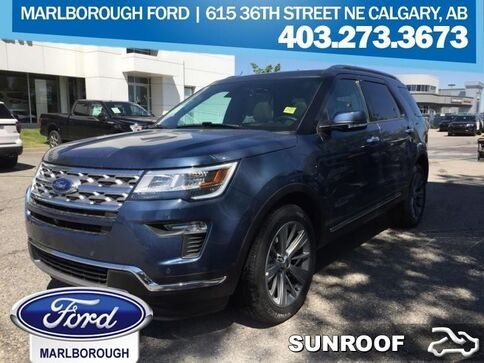 2018_Ford_Explorer_Limited 4WD  - Sunroof_ Calgary AB