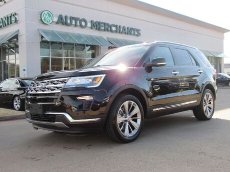 2018 Ford Explorer Limited 4WD DUAL SUNROOF,, NAVIGATION, BACKUP CAMERA, HEATED AND COOLED FRONT SEATS Plano TX