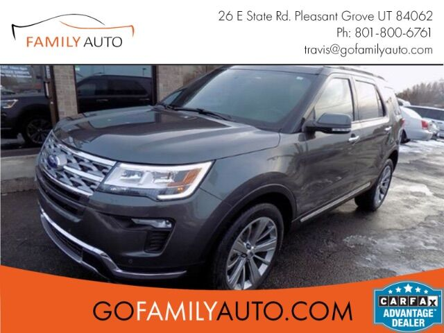 2018 Ford Explorer Limited 4WD Pleasant Grove UT