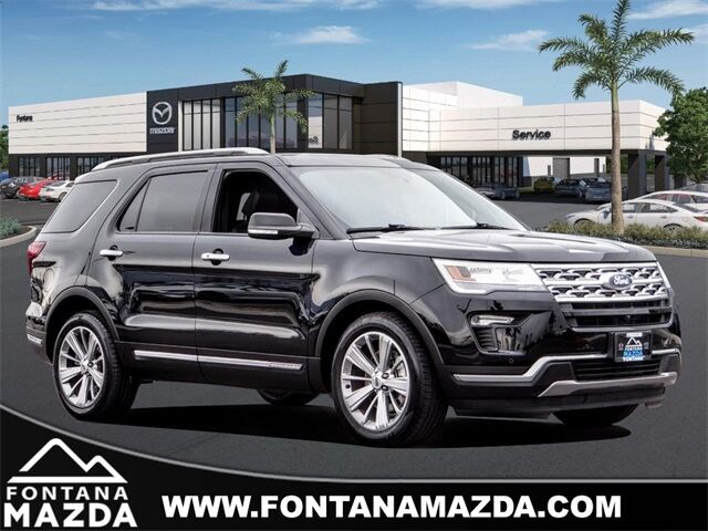 2018 Ford Explorer Limited Fontana CA