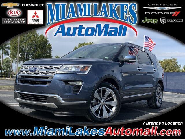 2018 Ford Explorer Limited Miami Lakes FL