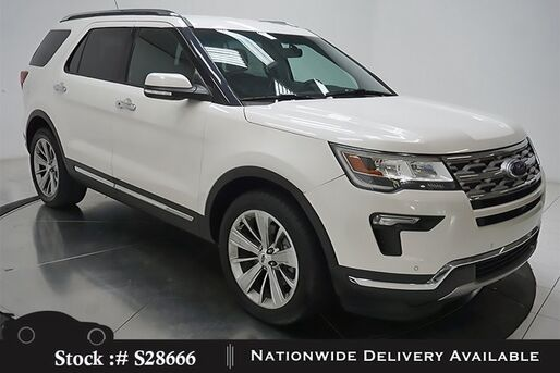 2018_Ford_Explorer_Limited NAV,CAM,CLMT STS,PARK AST,20IN WLS,3RD ROW_ Plano TX