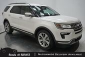 2018 Ford Explorer Limited NAV,CAM,CLMT STS,PARK AST,20IN WLS,3RD ROW