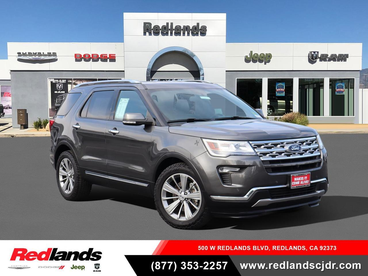 2018 Ford Explorer Limited Redlands CA