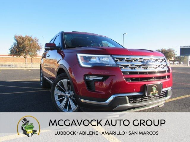 2018 Ford Explorer Limited Lubbock TX