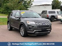 2018 Ford Explorer Limited South Burlington VT