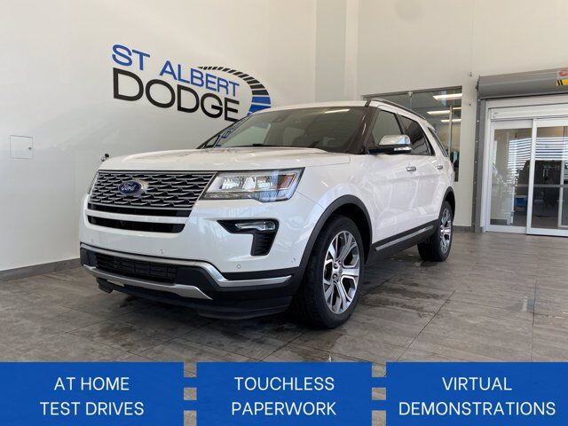 2018 Ford Explorer Platinum St. Albert AB