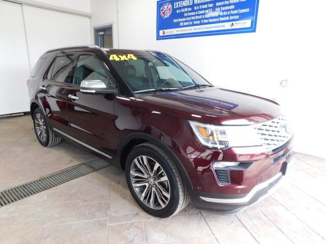 2018 Ford Explorer PlatinumSUNROOF NAVI Listowel ON