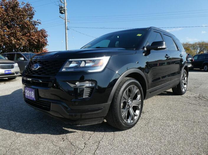 2018 Ford Explorer Sport   Navigation   Panoramic Roof   Remote Start Essex ON