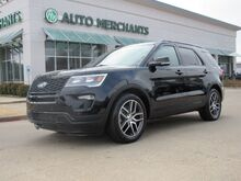 2018_Ford_Explorer_Sport 4WD 3.5L 6CYL AUTOMATIC, 4WD, NAVIGATION, LEATHER, DOUBLE SUNROOF, BACKUP CAMERA, HEATED SEATS_ Plano TX