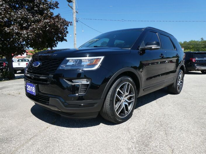 2018 Ford Explorer Sport DVD Navigation Cooled Seats Essex ON