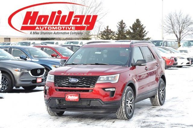 vehicle details 2018 ford explorer at holiday automotive fond du lac holiday automotive. Black Bedroom Furniture Sets. Home Design Ideas