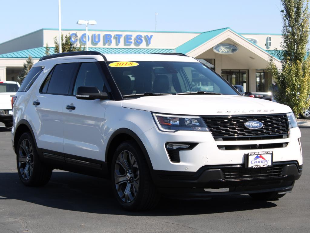 2018 Ford Explorer Sport Pocatello ID