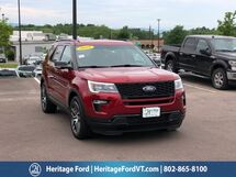 2018 Ford Explorer Sport South Burlington VT