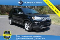 2018 Ford Explorer XLT * Pohanka Certified 10 Year / 100,000 **