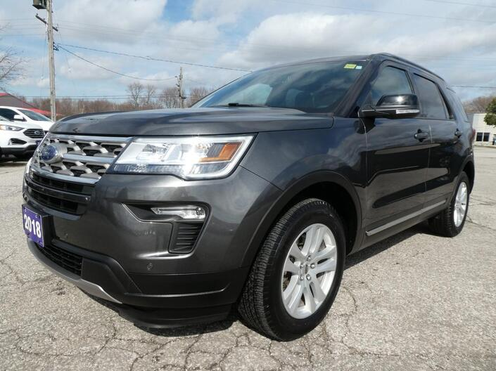 2018 Ford Explorer XLT | Remote Start | Heated Seats | Back Up Cam Essex ON