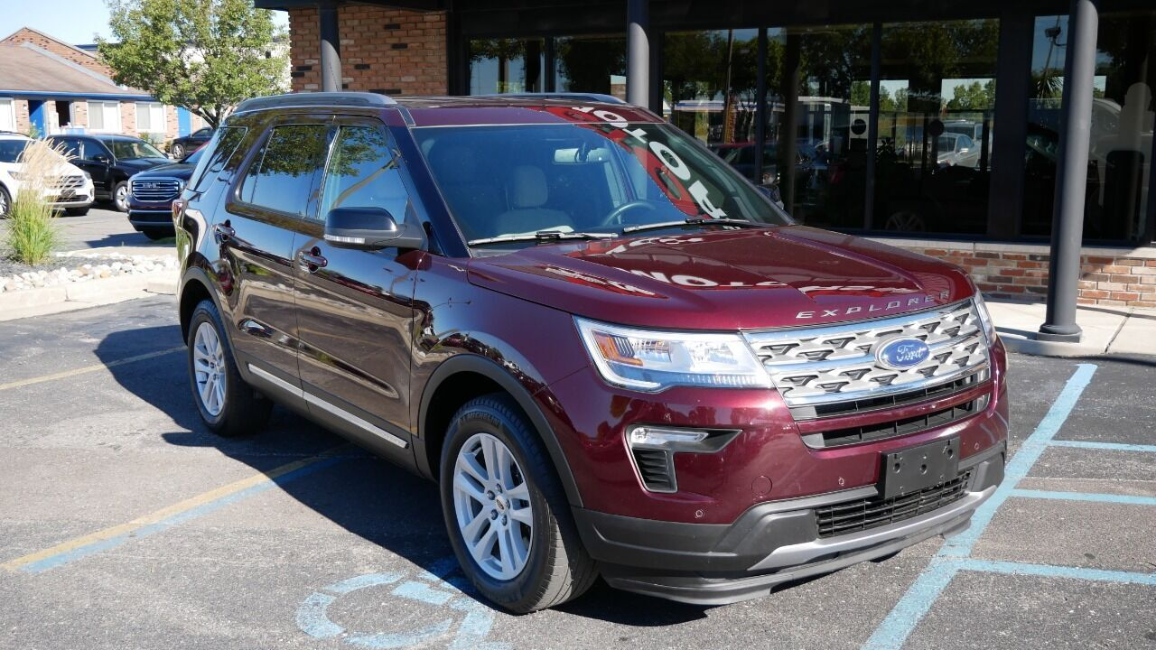 2018 Ford Explorer XLT AWD 4dr SUV Chesterfield MI