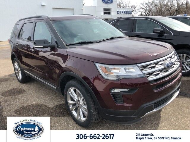 2018 Ford Explorer XLT, XLT Tech Feature Bundle, Rear Inflatable Belts, Twin Panel