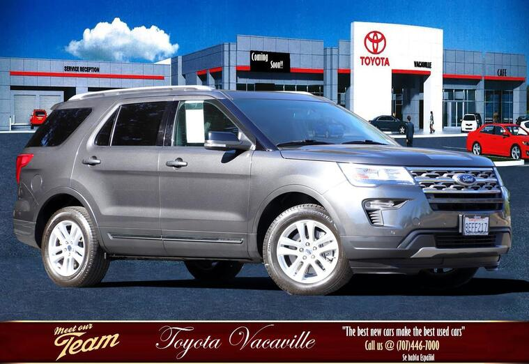 2018 Ford Explorer Xlt Sport Utility Vacaville CA