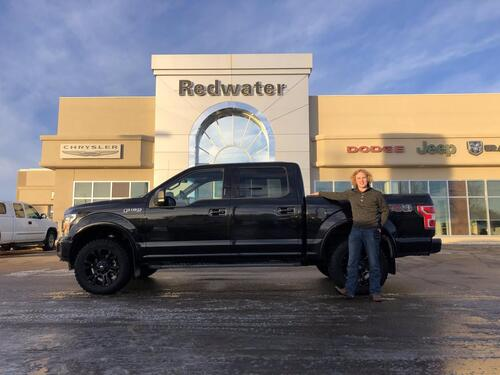 2018_Ford_F-150_4X4 - 3.5L Eco Boost - Navigation - Level Kit - One Owner - Supercrew_ Redwater AB