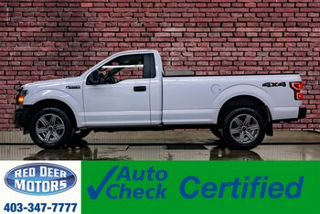 2018_Ford_F-150_4x4 Reg Cab XL Longbox BCam_ Red Deer AB