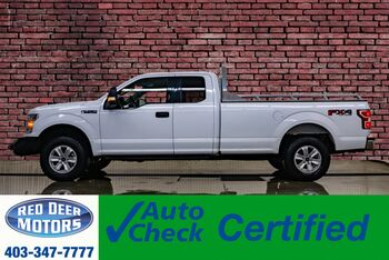 2018_Ford_F-150_4x4 Super Cab XLT FX4 Longbox BCam_ Red Deer AB
