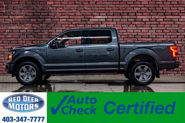 2018 Ford F-150 4x4 Super Crew Lariat Leather Roof Nav Red Deer AB