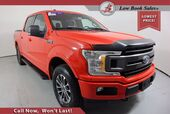 2018 Ford F-150 CREW CAB 4X4 XLT SPORT 3.5 ECOBOOST 6 1/2 FT BED