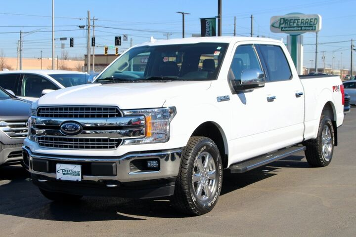 2018 Ford F-150 Crew Cab LARIAT Fort Wayne Auburn and Kendallville IN