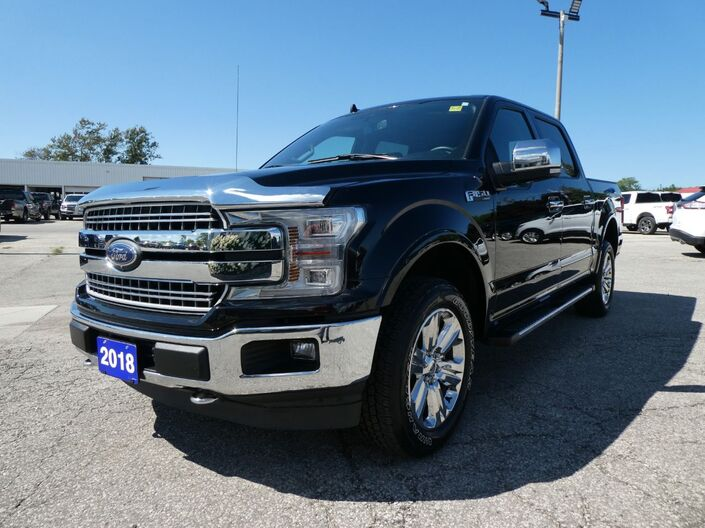 2018 Ford F-150 LARIAT Panoramic Roof Cooled Seats Navigation Essex ON