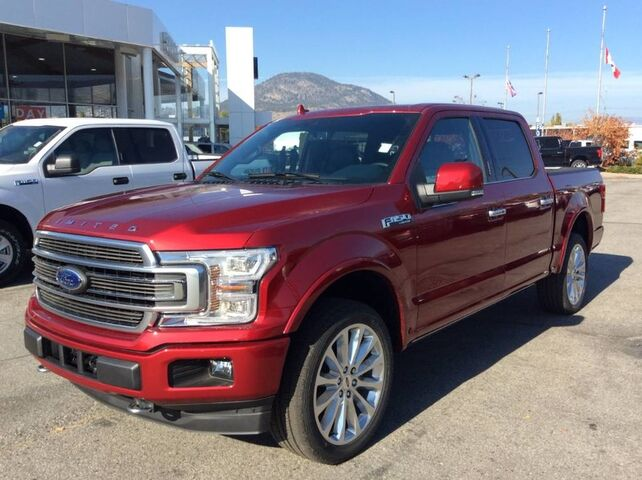 2018 Ford F-150 LIMITED Penticton BC
