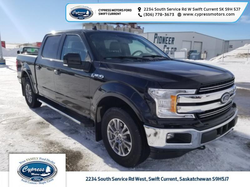 2018 Ford F-150 Lariat  - Leather Seats -  Cooled Seats - $314 B/W Swift Current SK