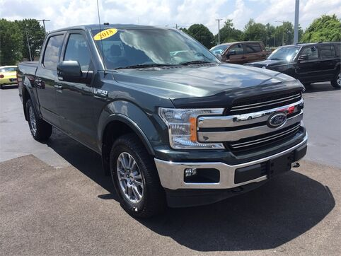2018_Ford_F-150_Lariat 4WD_ Evansville IN