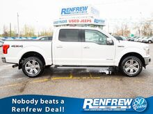 2018_Ford_F-150_Lariat SuperCrew 4x4, Power Stroke, Pano Sunroof, Nav, Cooled/Heated Leather, Remote Start_ Calgary AB