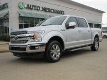 2018_Ford_F-150_Lariat SuperCrew 5.5-ft. Bed 2WD HEATED/COOLED SEATS, APPL CAR PLAY,BLIND SPOT, BACKUP CAMERA_ Plano TX