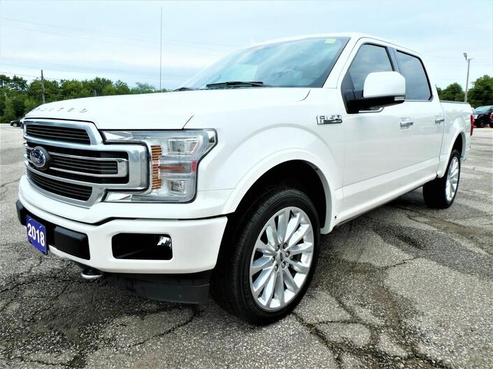 2018 Ford F-150 Limited 3.5L | Navigation | Adaptive Cruise | Cooled Seats Essex ON