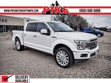 2018_Ford_F-150_Limited_ Pampa TX