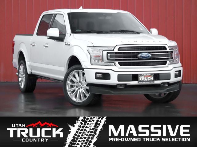 2018 Ford F-150 Limited SuperCrew 5.5 Bed Lehi UT