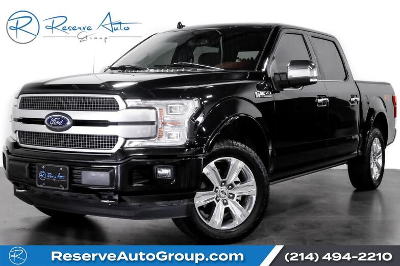 2018 Ford F-150 Platinum 4WD FX4 PanoRoof The Colony TX