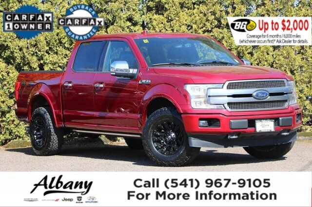 2018 Ford F-150 Platinum Albany OR